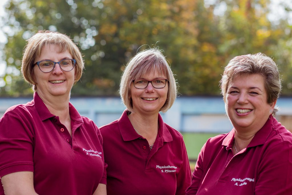 Praxisteam Physiotherapie, Homepage